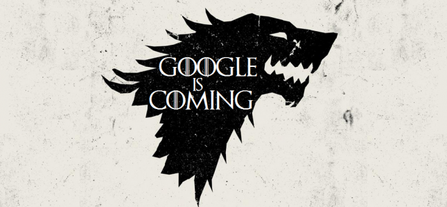 Google is coming game of  2