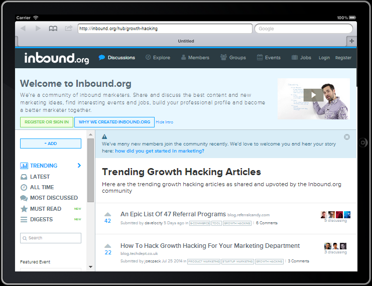 20 Top Growth Hacking Resources For Sprouting Success
