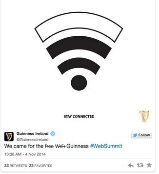 guinness wifi