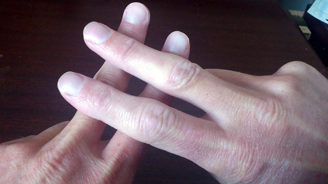 finger hashtag